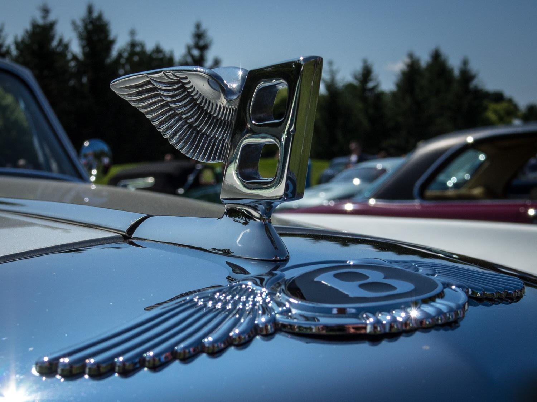 1958 Bentley Saddam Hussein bullets badge