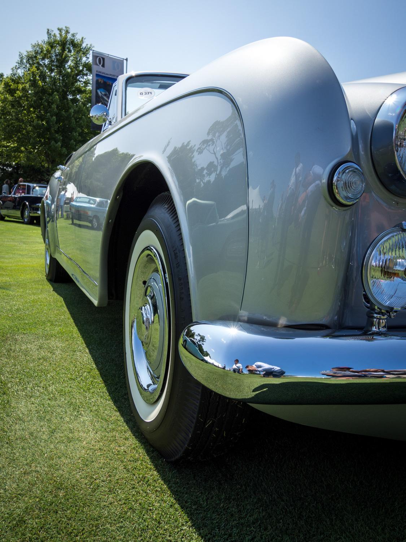 1958 Bentley Saddam Hussein bullets side wheels low