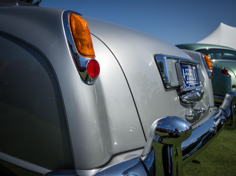 1958 Bentley Saddam Hussein bullets rear tail lights