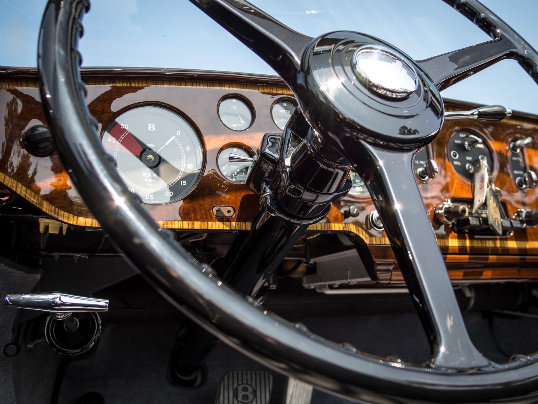 1958 Bentley Saddam Hussein bullets low dash