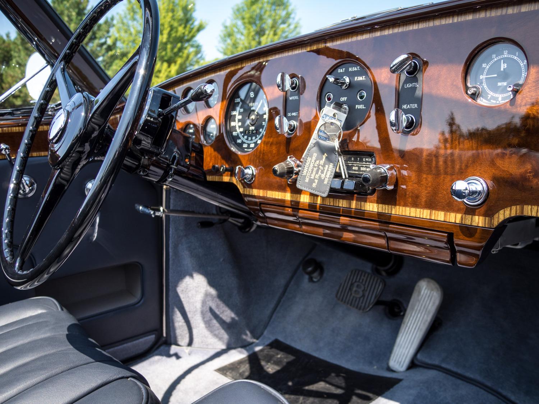 1958 Bentley Saddam Hussein bullets dash passenger side