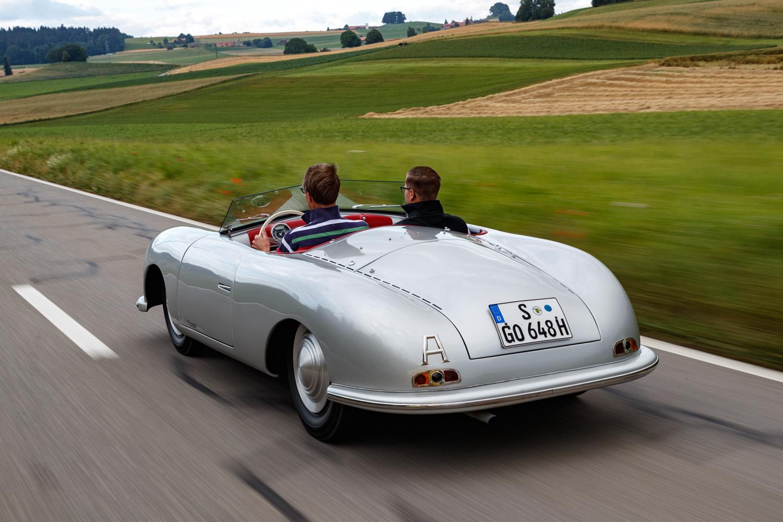Porsche 356 001 rear 3/4 view