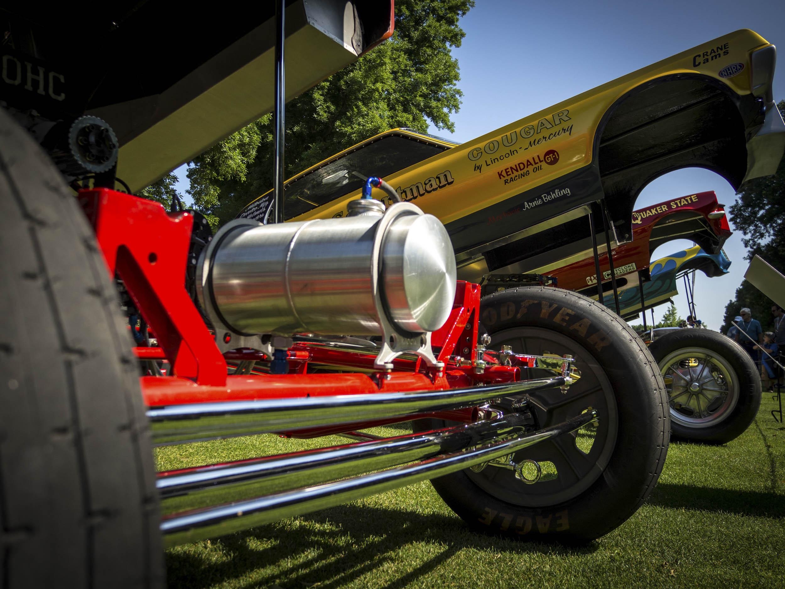dragster suspension