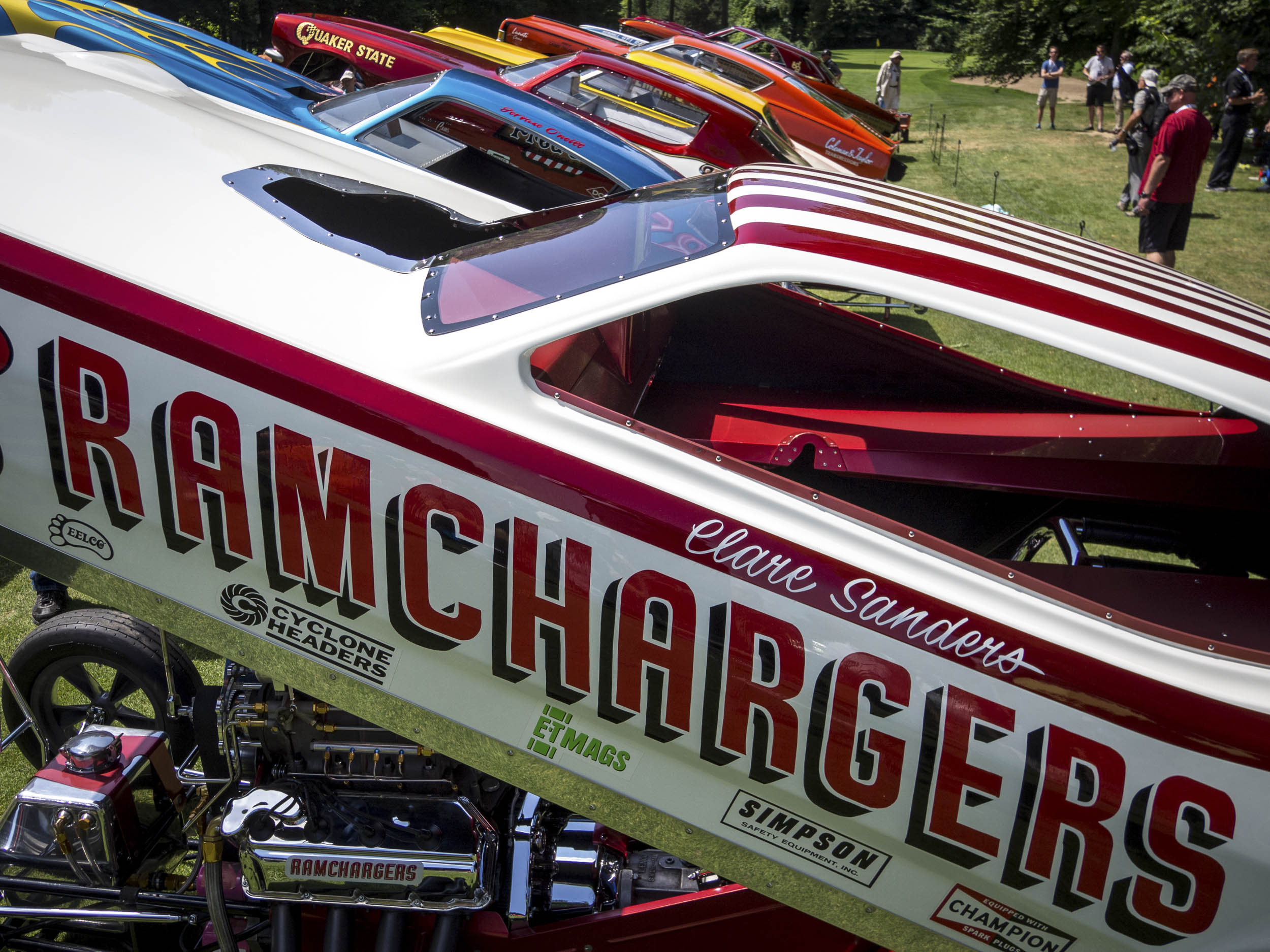 Old School funny cars