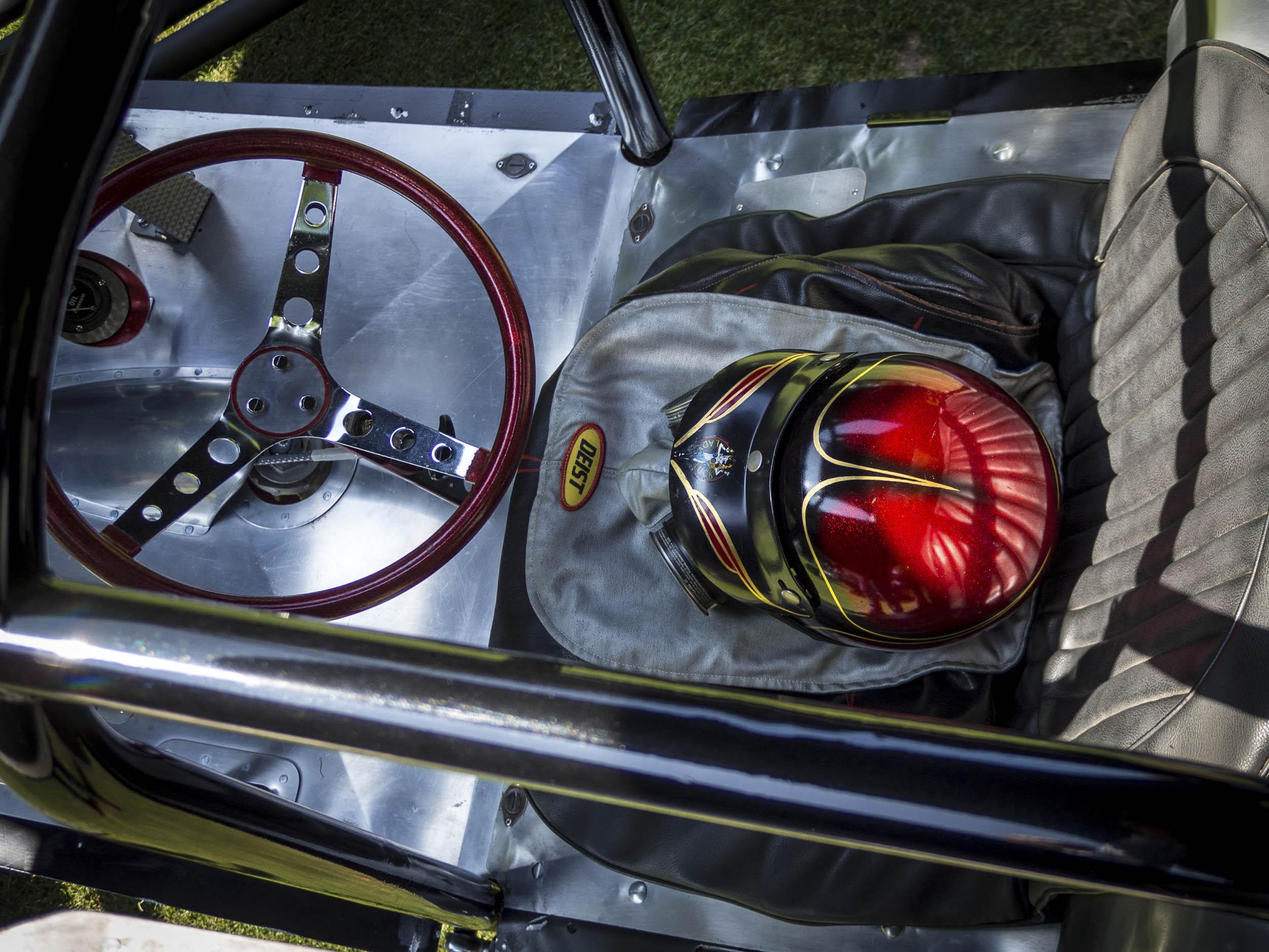 drag racing cockpit