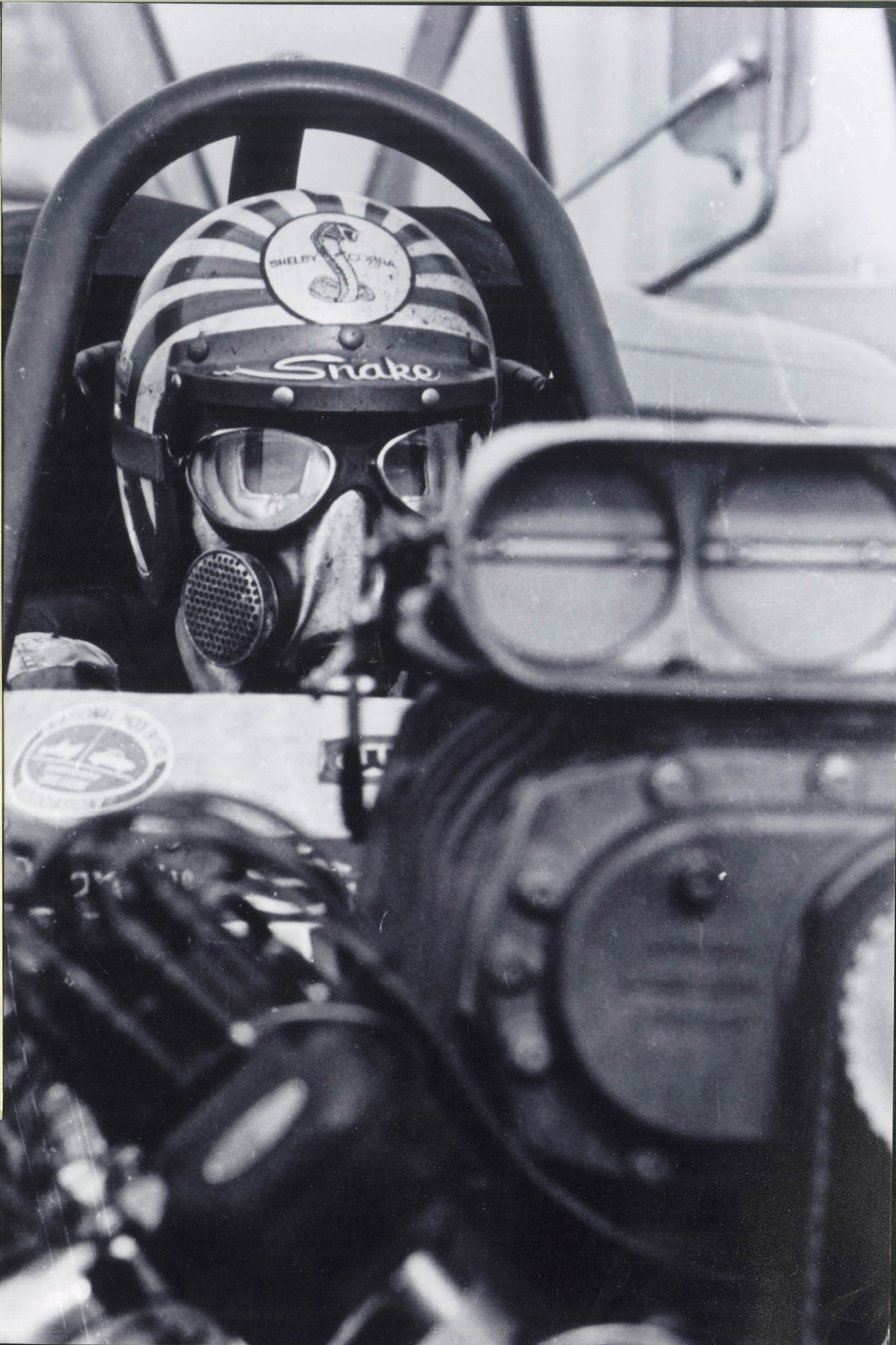 Prudhomme raced a Ford-powered dragster in '67 and '68, sponsored by none other than Carroll Shelby. The two men hit it off and would work together again.