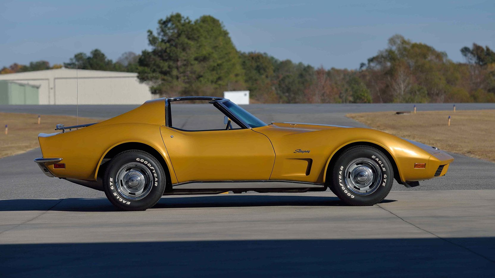 1974 Chevrolet Corvette 454 big block side view
