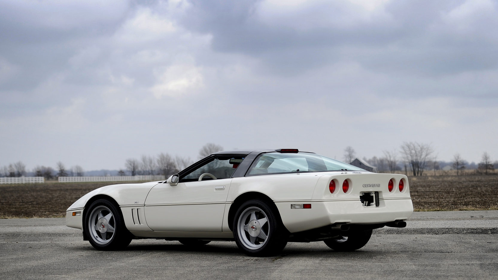 1988 Chevrolet Callaway Corvette rear 3/4