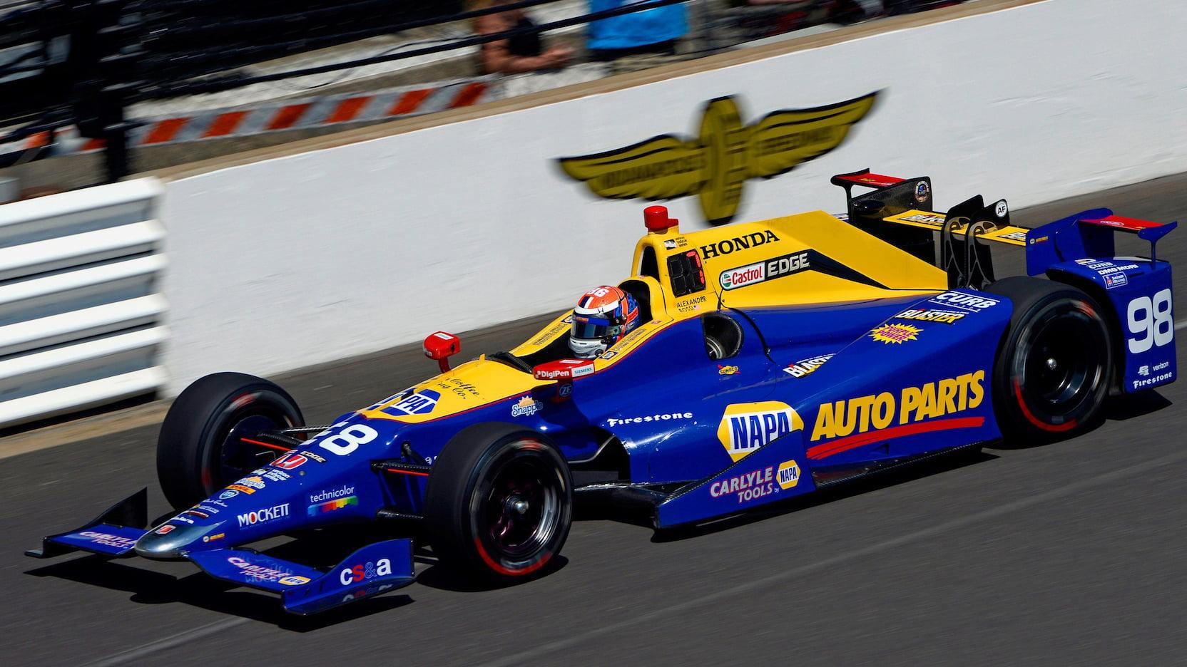 2012 Dallara DW12 Honda