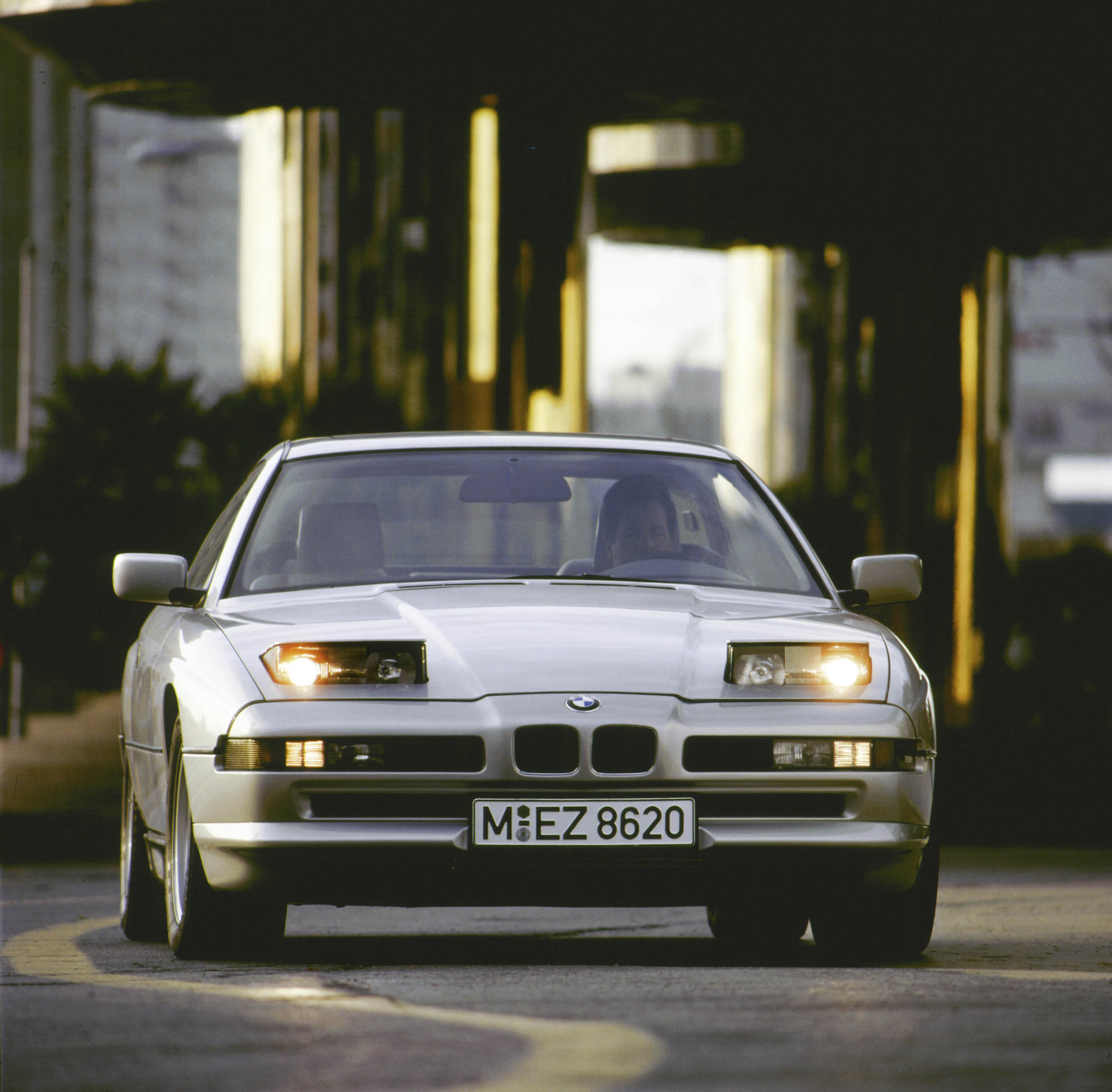 1993 BMW 840ci front