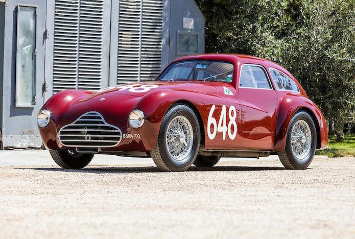 1948 Alfa Romeo 6C 2500 Competizione front 3/4