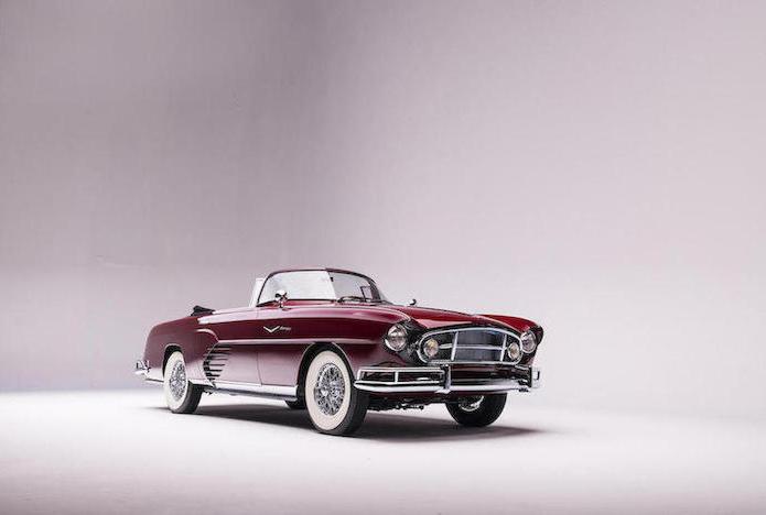 1956 Fina Sport Convertible front 3/4