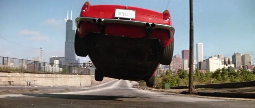 Ferris Bueller's day off ferrari jump