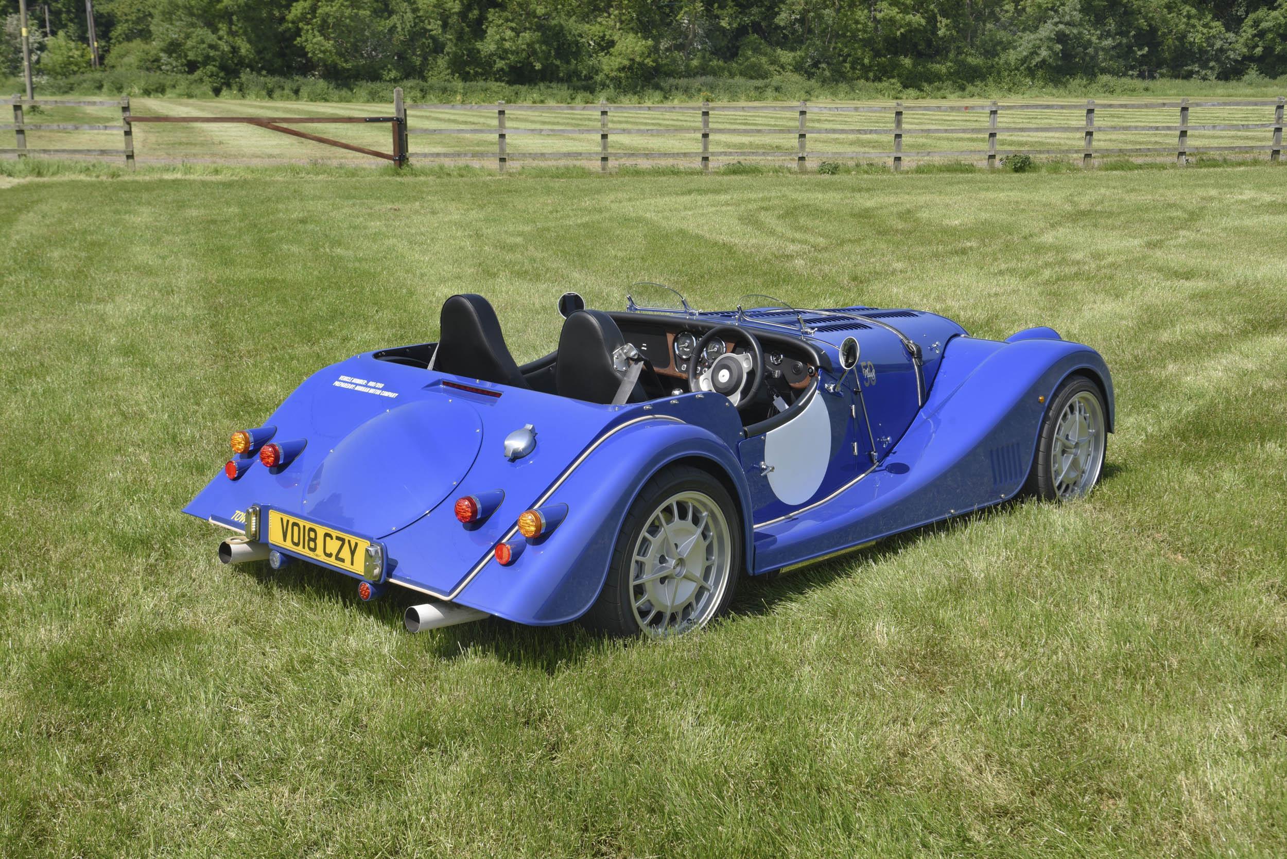 Morgan Plus 8 rear 3/4