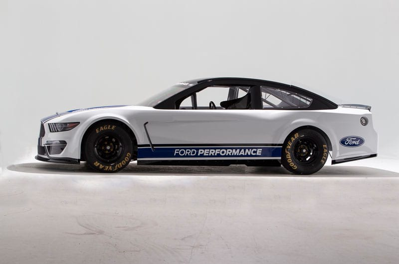 2019 NASCAR Ford Mustang profile