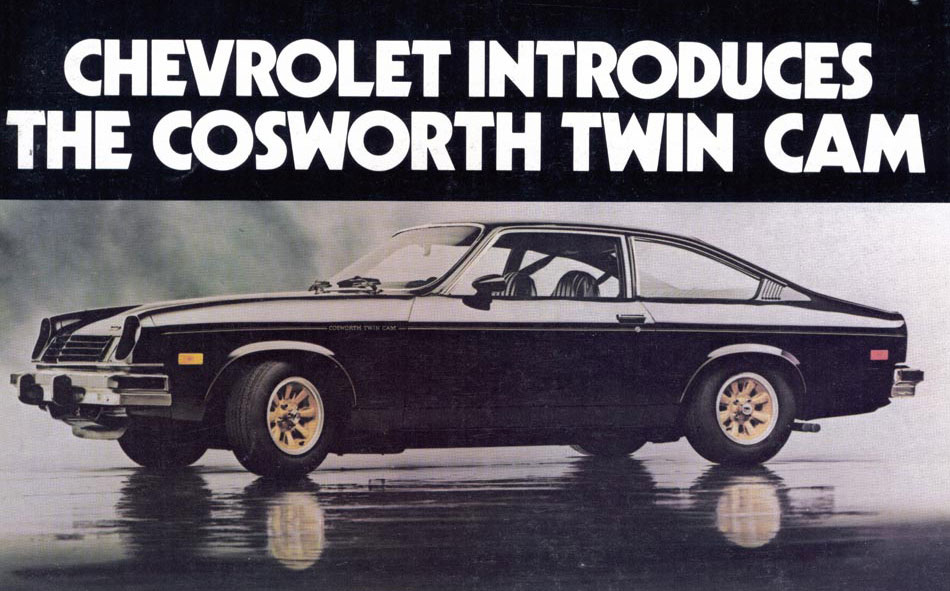 Cosworth Vega Advertisement