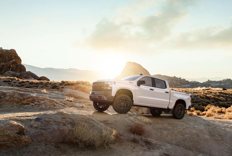 2019 Chevrolet Silverado at sunrise