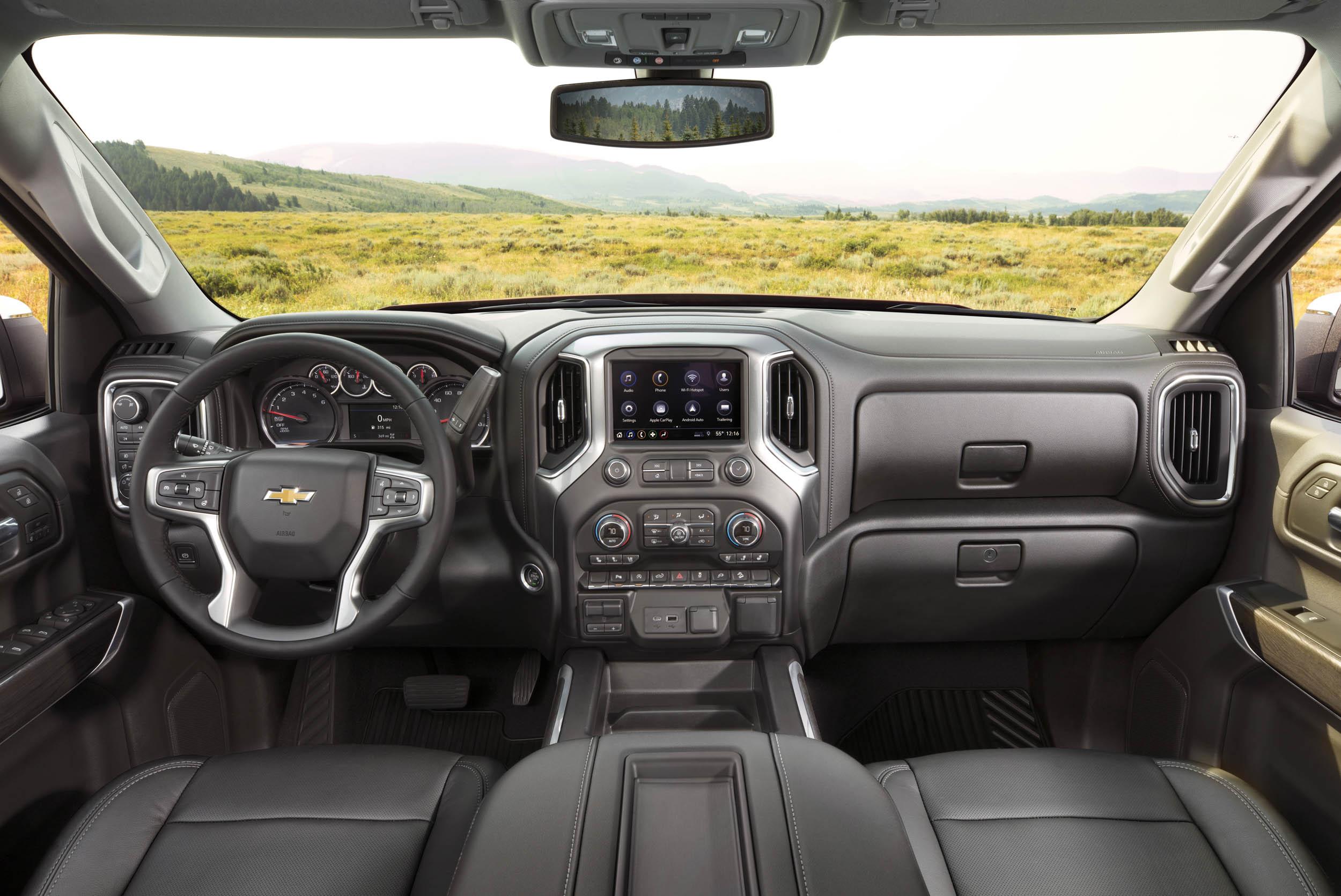 2019 chevrolet silverado LTZ interior