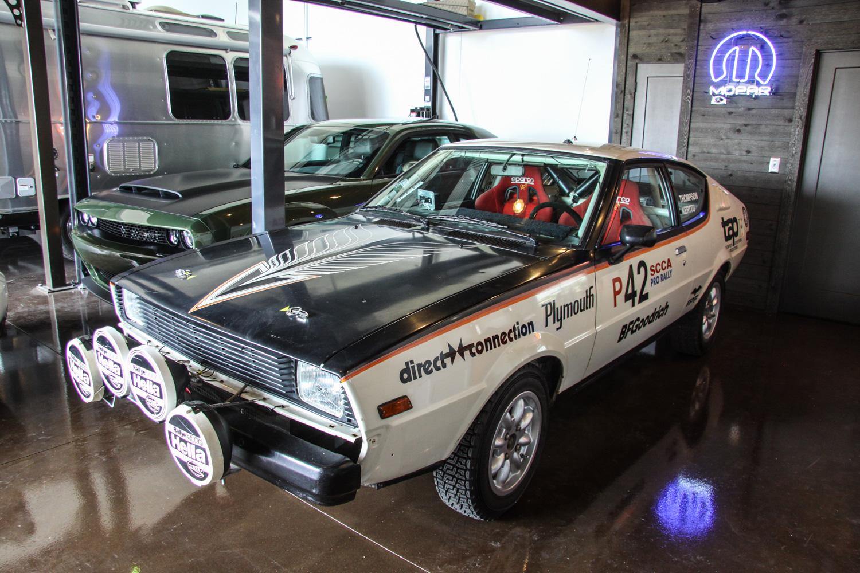 Roadkill Nights 2018 Plymouth Fire arrow SCCA Pro Rally