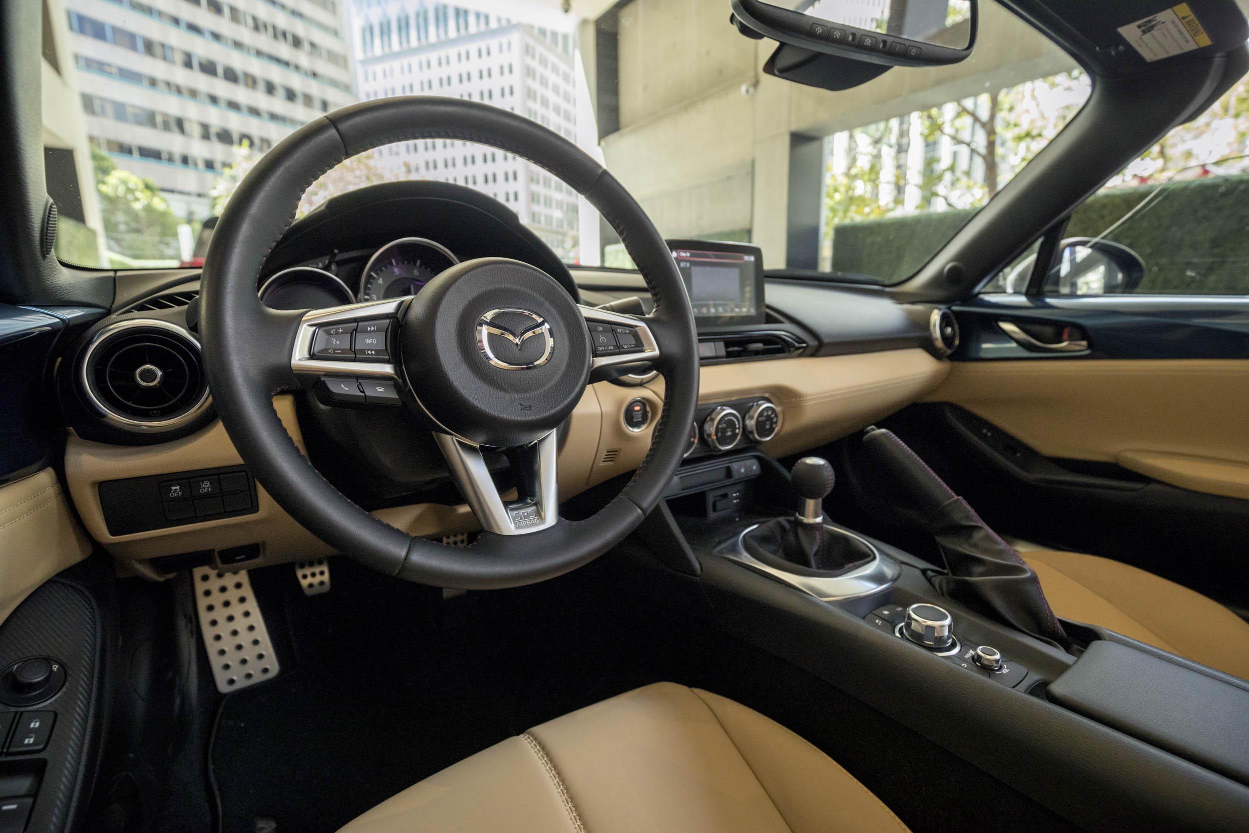 2019 Mazda MX-5 Miata Roadster interior