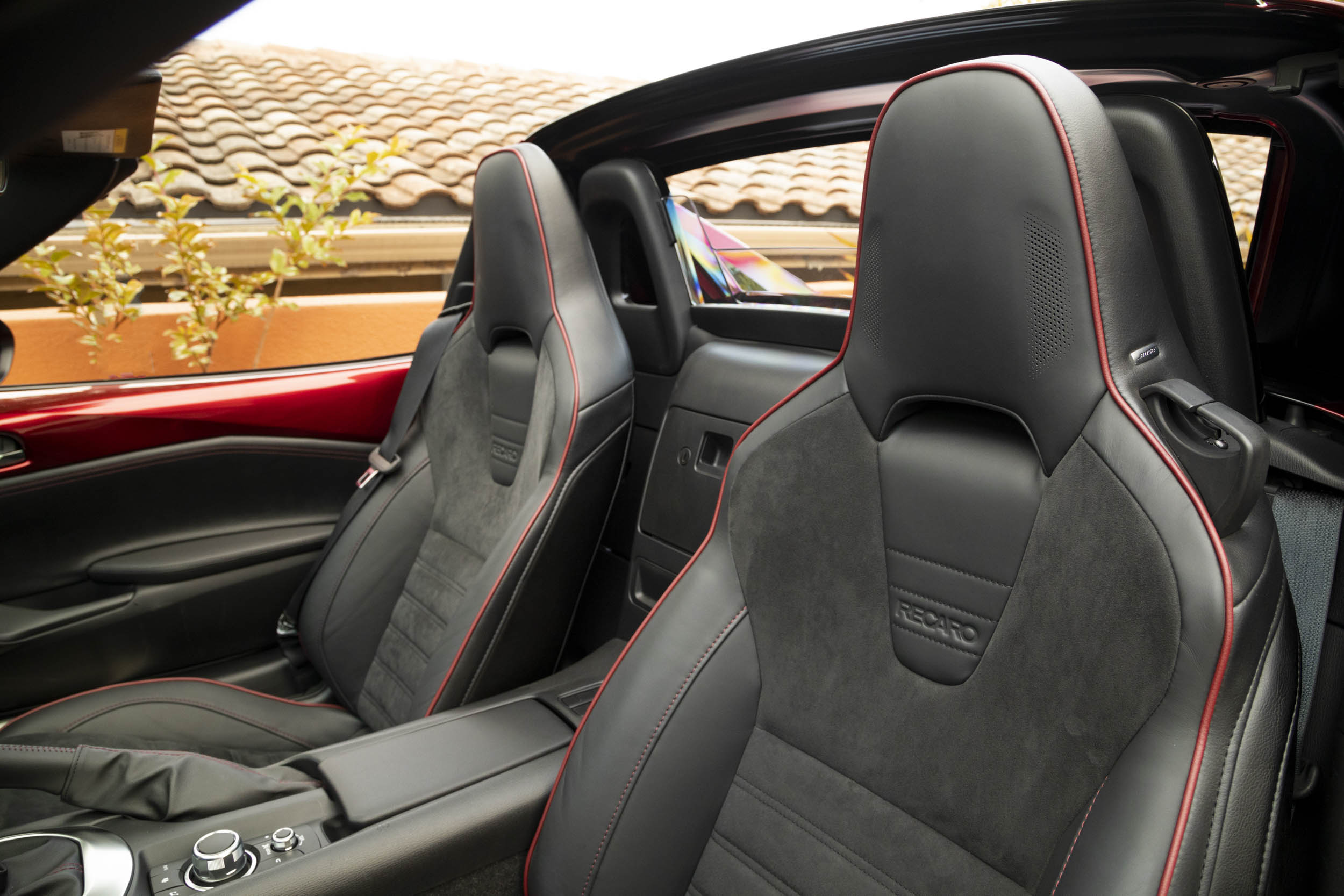 Mazda MX-5 Miata Recaro seat
