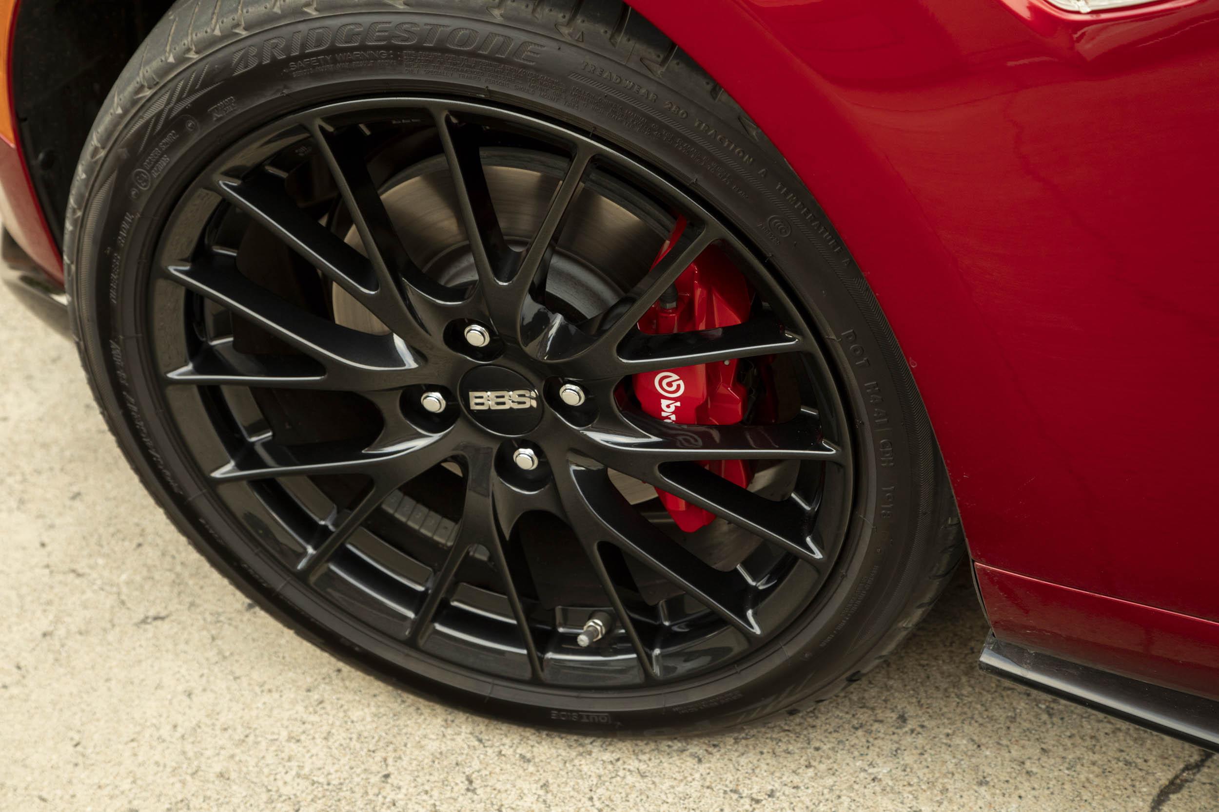 2019 Mazda MX-5 Miata wheel detail