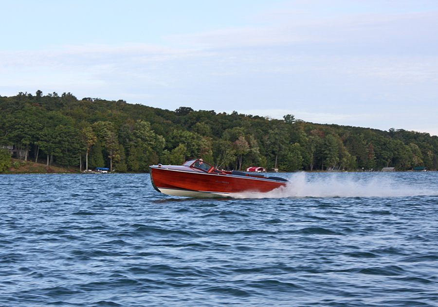 Van Dam Custom Boats after 3 boat on lake