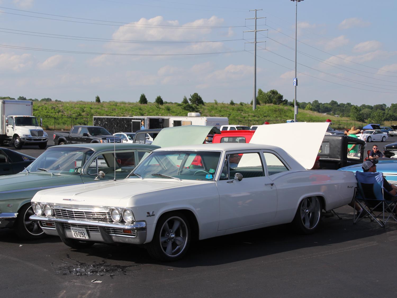 white b body post coupe
