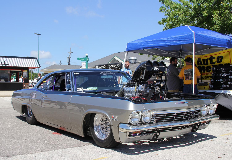 pro street blower impala drag race car