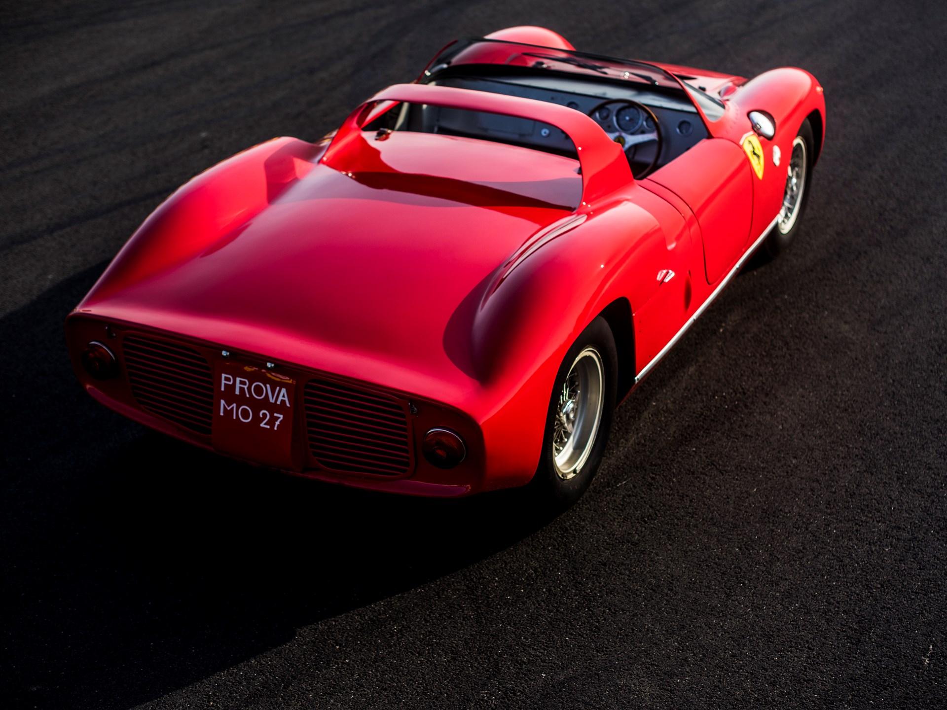 1963 Ferrari 275P rear 3/4