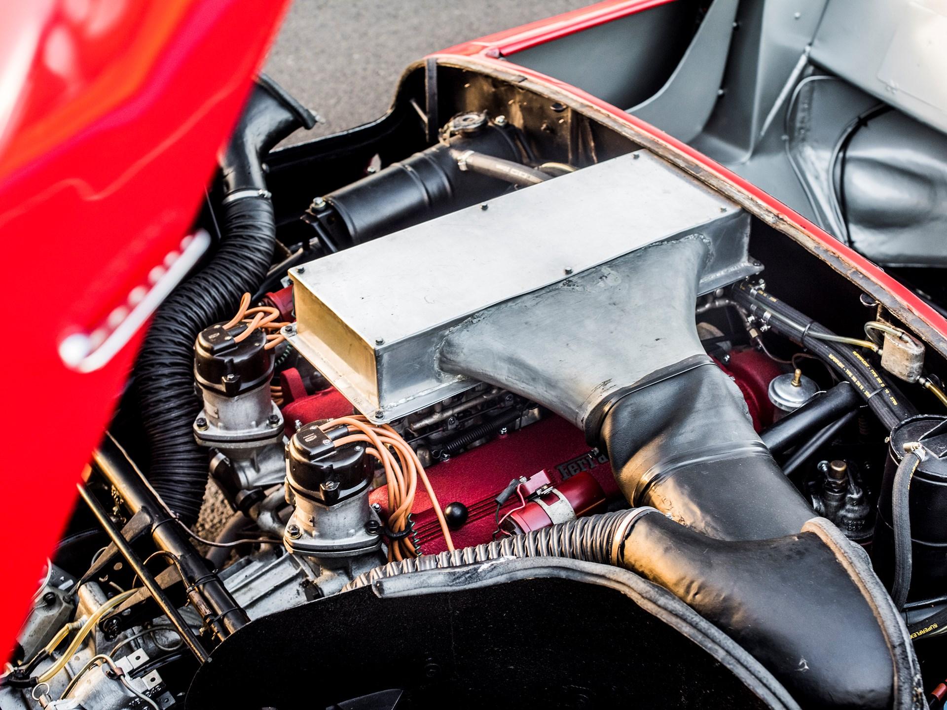 1963 Ferrari 275P Engine air box