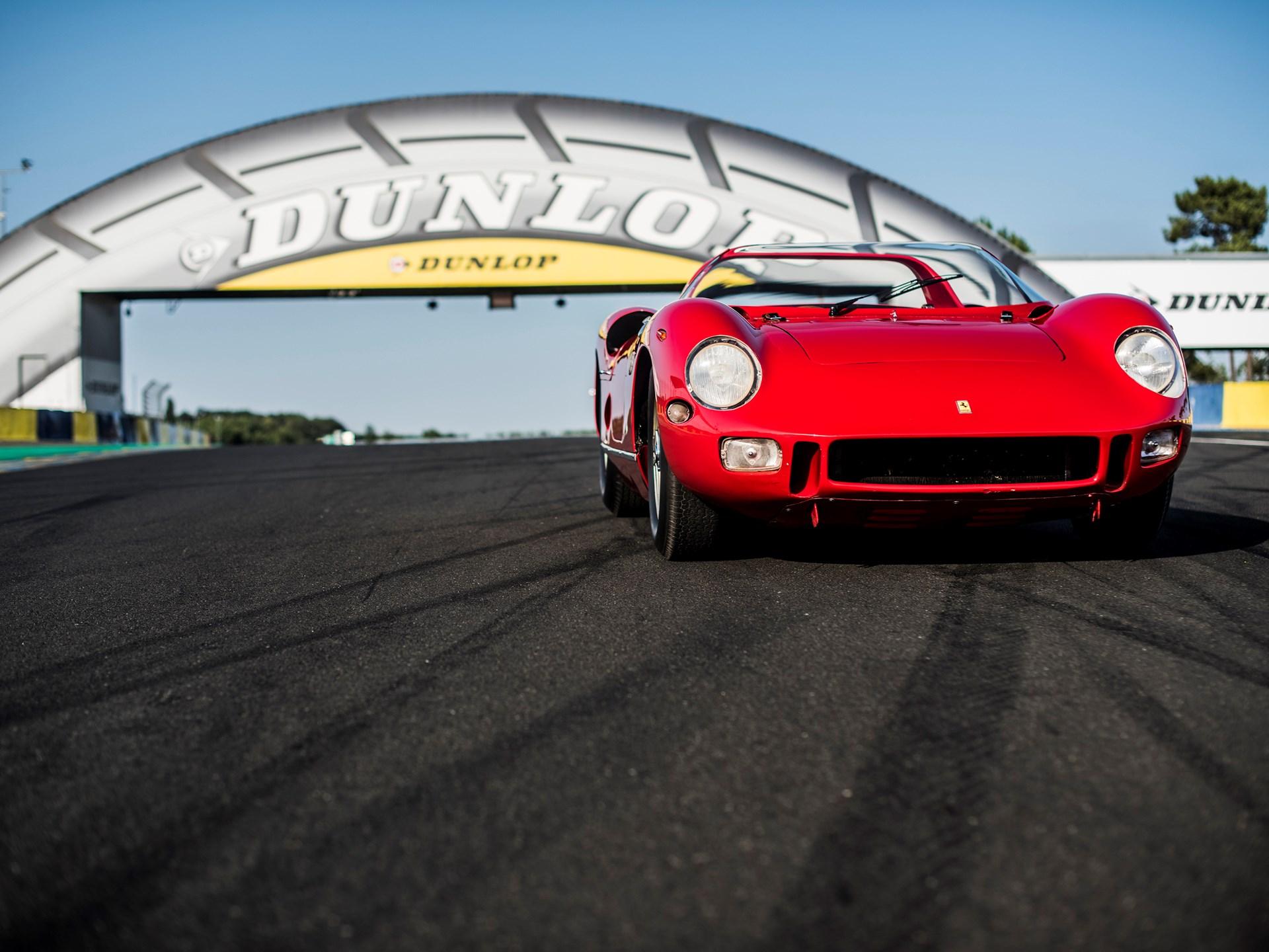 1963 Ferrari 275P  front end dunlop tire