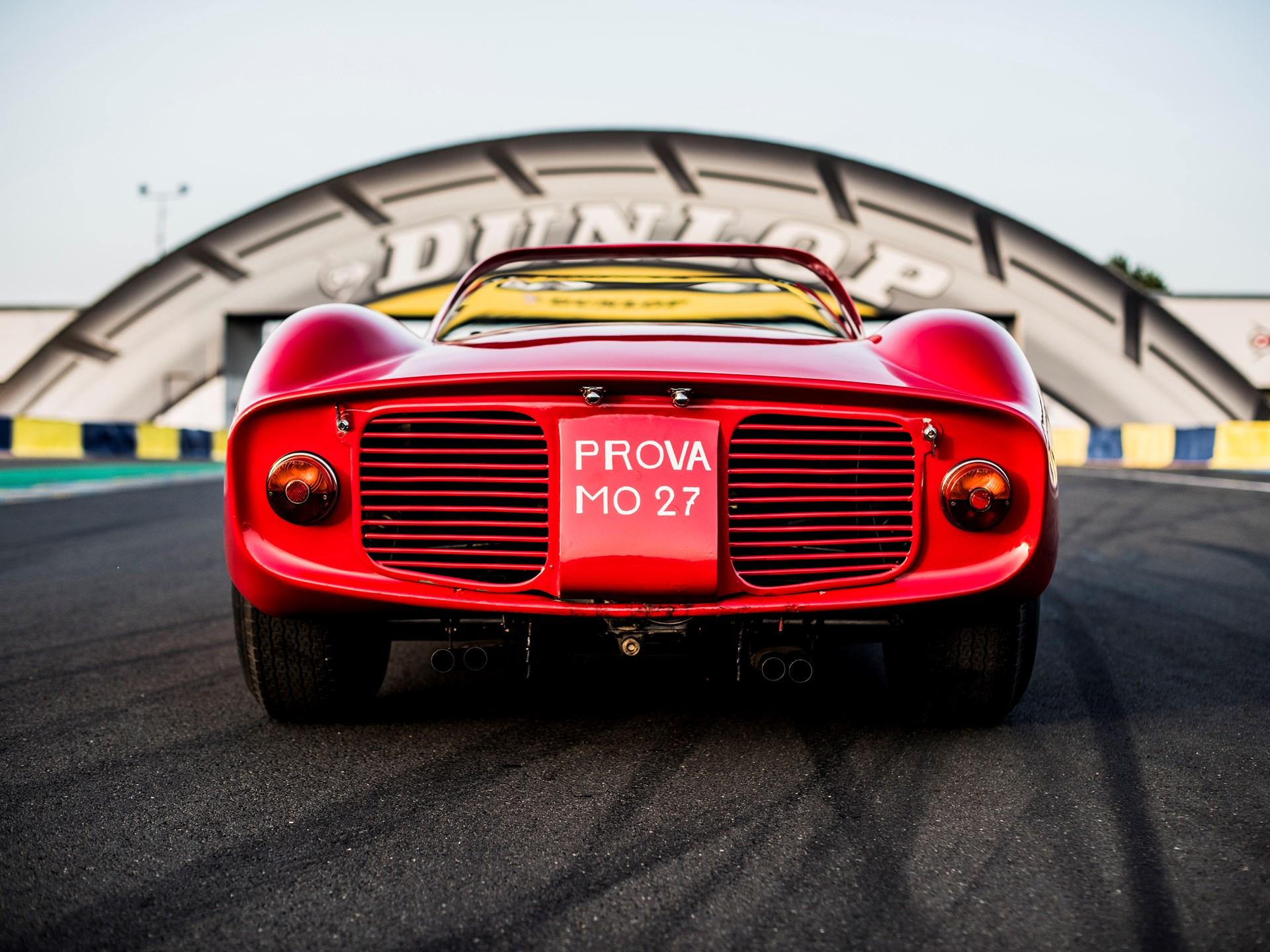 1963 Ferrari 275P rear end