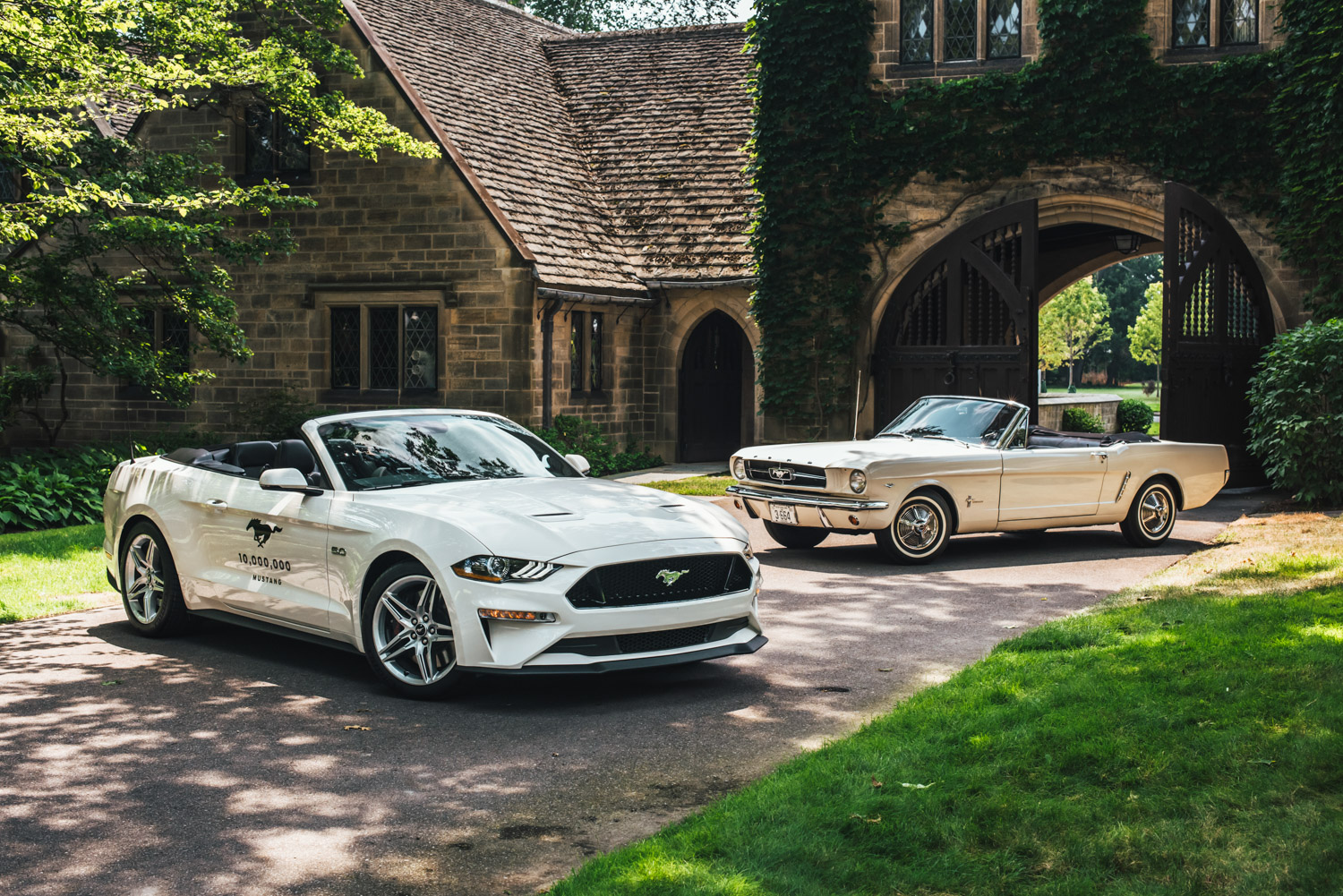 10 million mustang and VIN 001