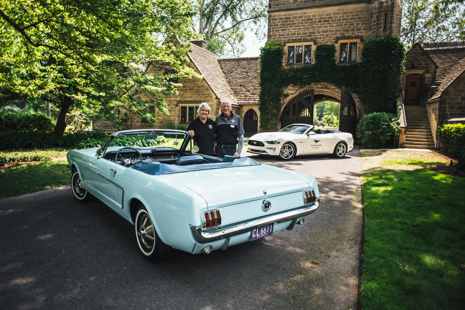 first mustang sold with number 10 million