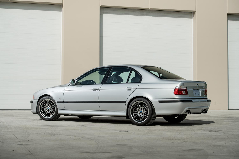 2002 m5 rear/side