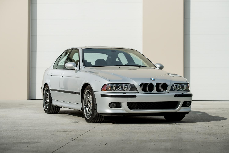 2002 m5 front 3/4