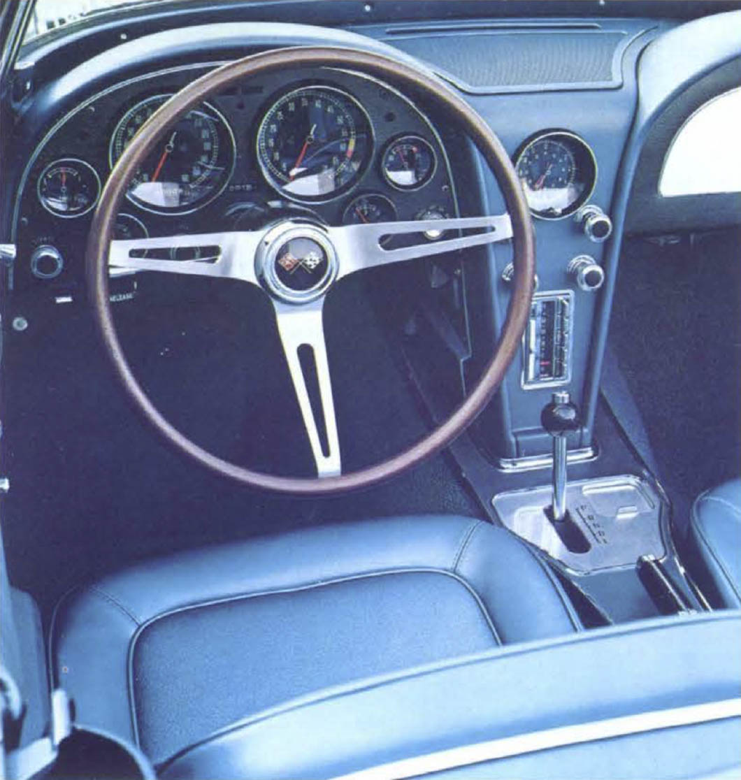 1967 Chevrolet Corvette interior