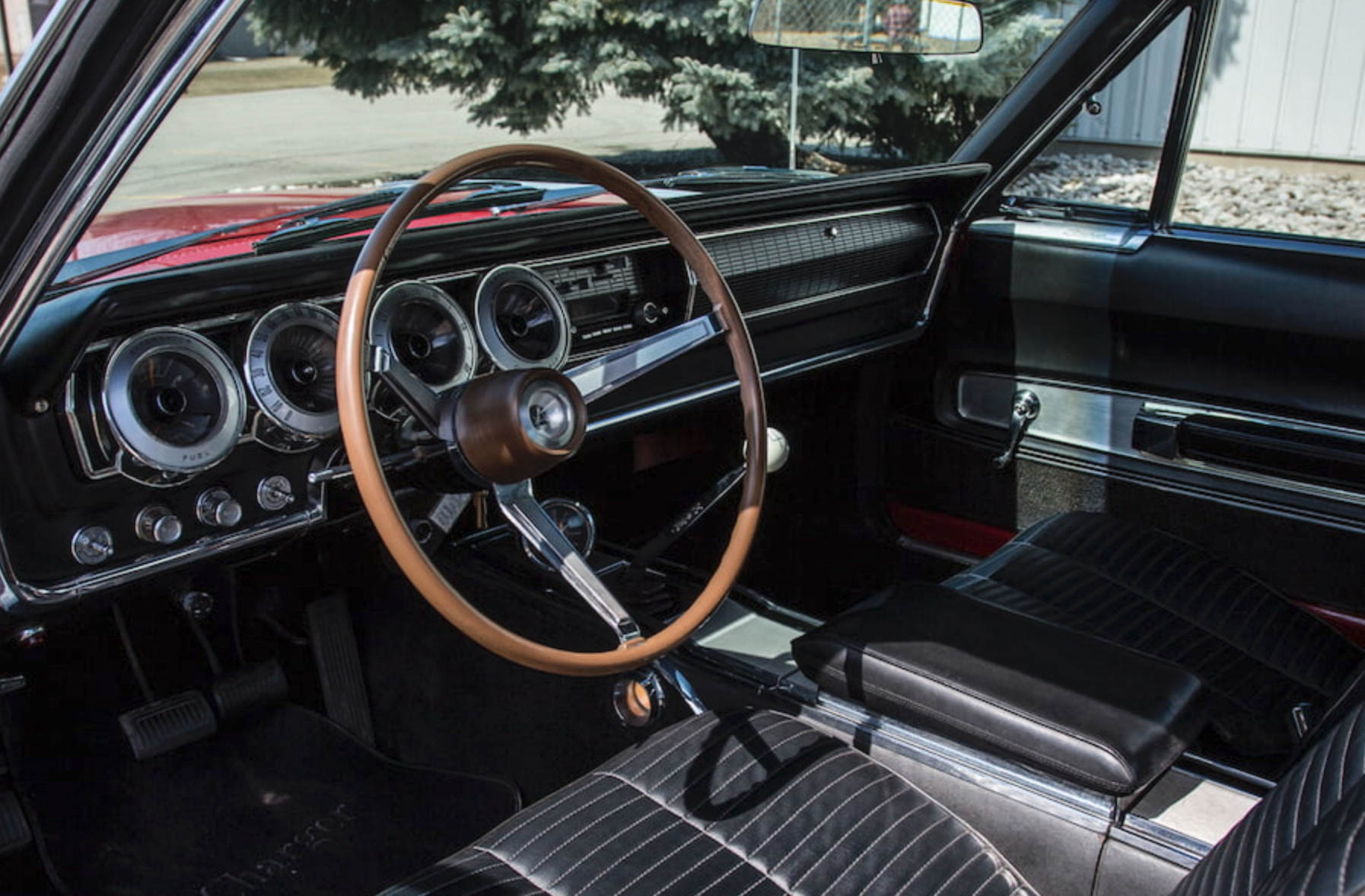 1966 Dodge Charger dash