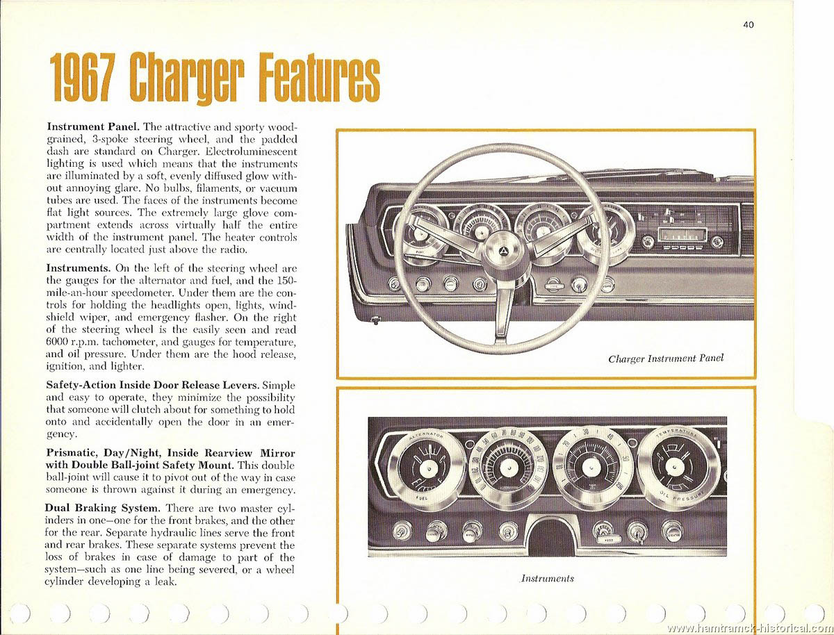 1967 Dodge Charger ad