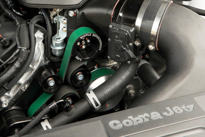 2018 Ford Mustang Cobra Jet engine bay