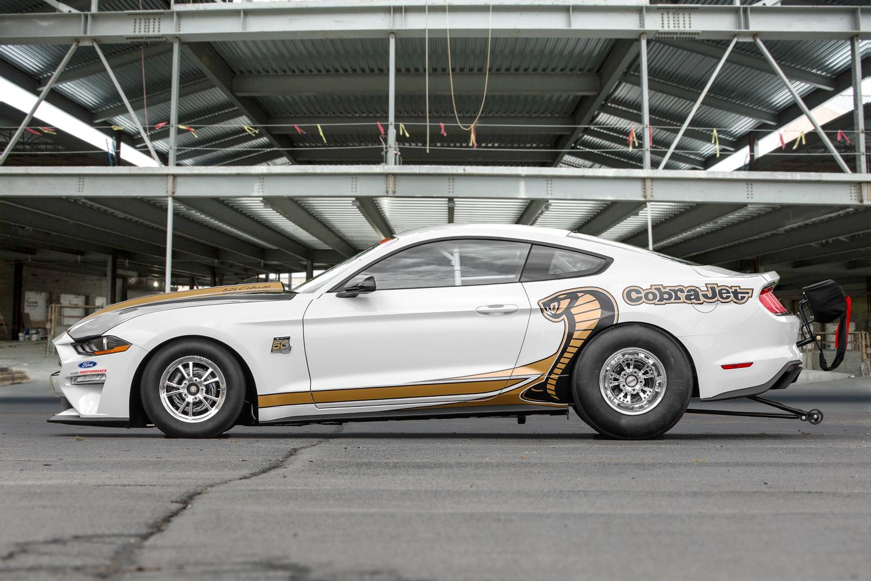 2018 Ford Mustang Cobra Jet side profile