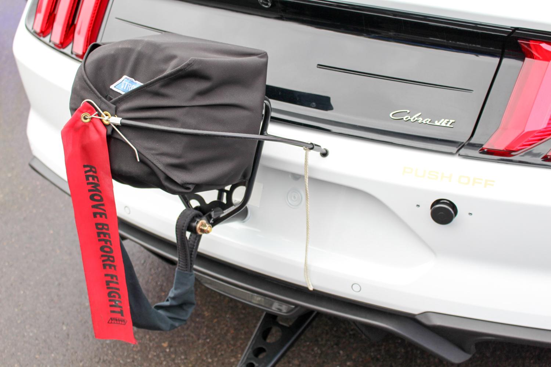 2018 Ford Mustang Cobra Jet parachute