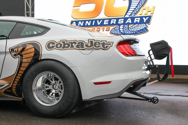 2018 Ford Mustang Cobra Jet rear half