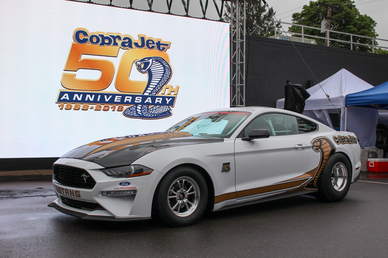 2018 Ford Mustang Cobra Jet reveal front