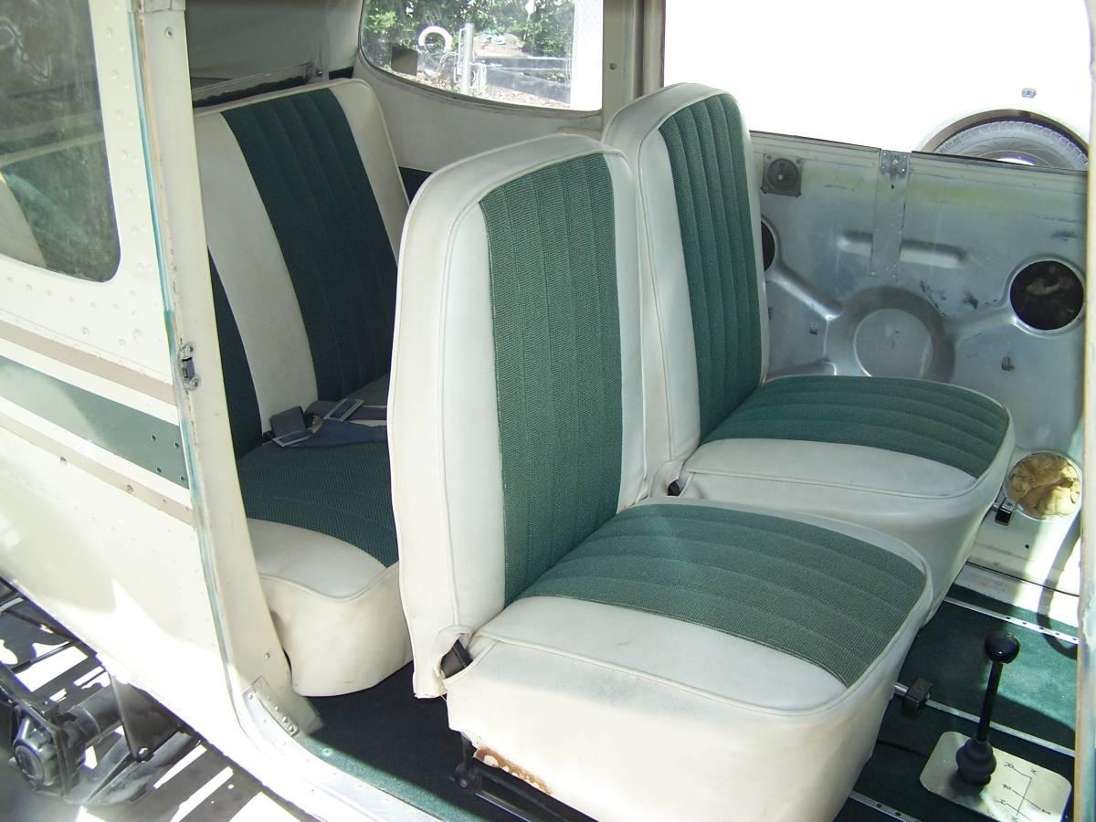 1968 VW Beetle/1959 Cessna 172 interior seats