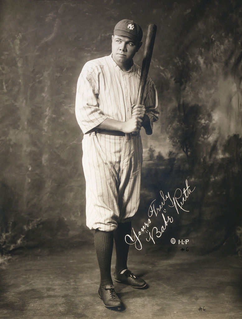 Babe Ruth cica 1920