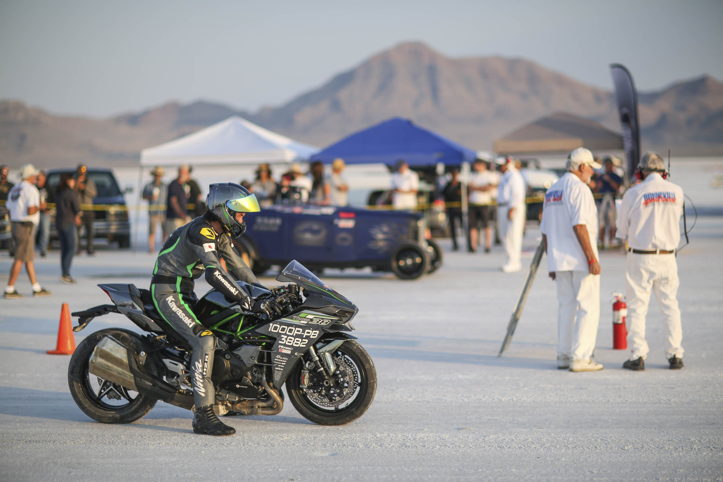 Motorcycle racing at Speedweek 2018