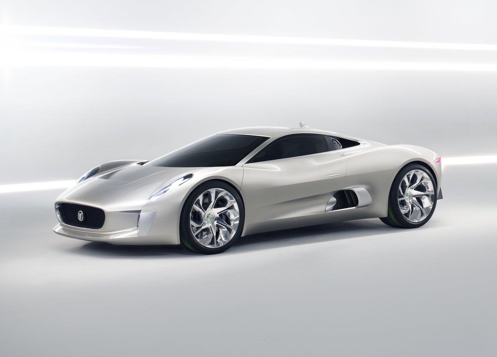 2010 Jaguar C-X75 Concept Side profile