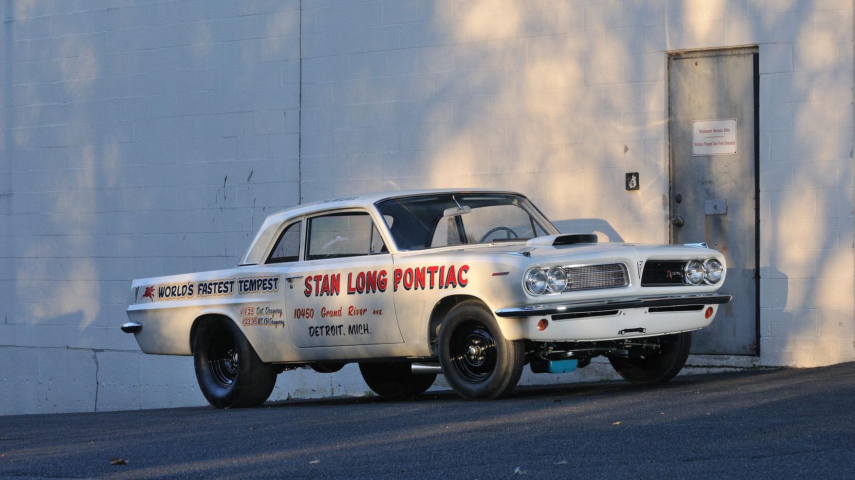 1963 Pontiac Tempest Super Duty front 3/4 stan long